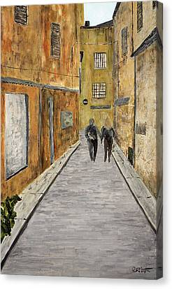St. Tropez Canvas Print by Paul Harrington