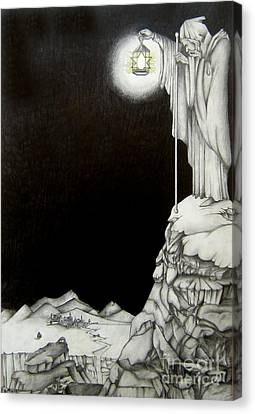 Stairway To Heaven Canvas Print by Patrice Torrillo