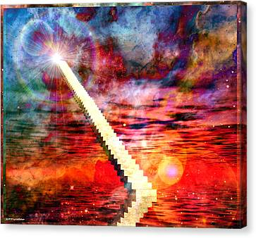 Stairway To Heaven Canvas Print by RP Callahan