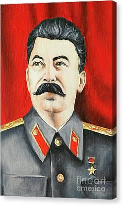 Stalin Canvas Print by Michal Boubin