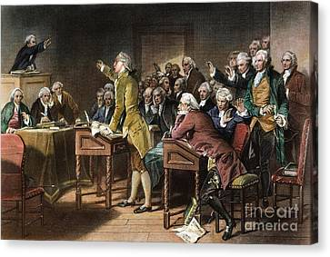Stamp Act: Patrick Henry Canvas Print by Granger