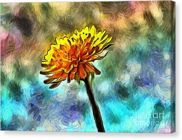 Stand Out Canvas Print by Krissy Katsimbras