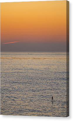 Standing Water Canvas Print by Peter Tellone