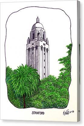 Stanford Canvas Print by Frederic Kohli
