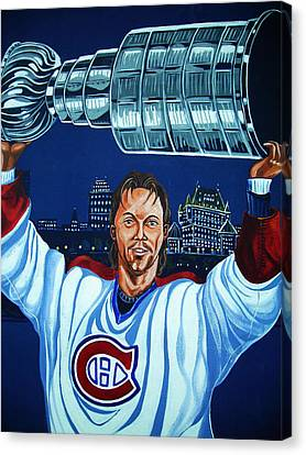 Stanley Cup - Champion Canvas Print by Juergen Weiss