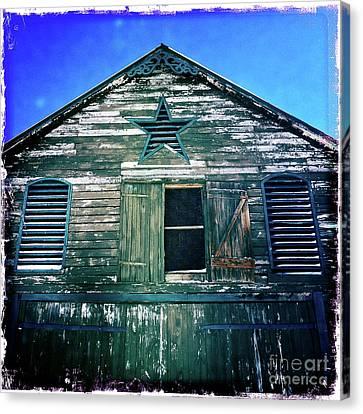 Star Barn I Canvas Print by Kevyn Bashore
