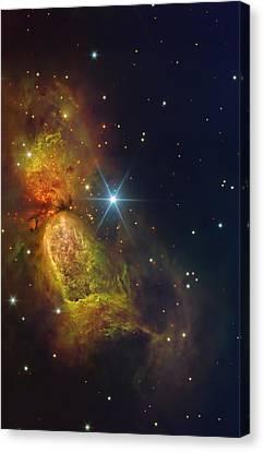 Star Creation Canvas Print by Paul Van Scott