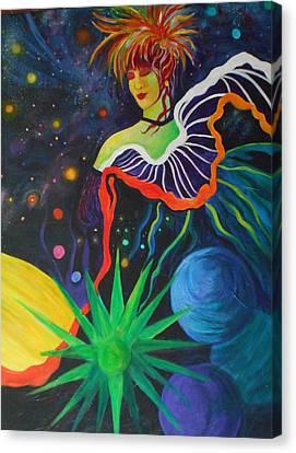 Star Dancer Canvas Print by Carolyn LeGrand