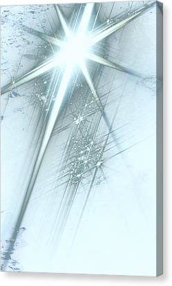 Star Of Wonder Canvas Print by Ellen Henneke
