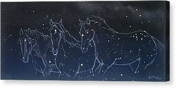 Star Spirits Canvas Print by Kim McElroy