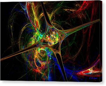 Star Womb Canvas Print by Michael Durst