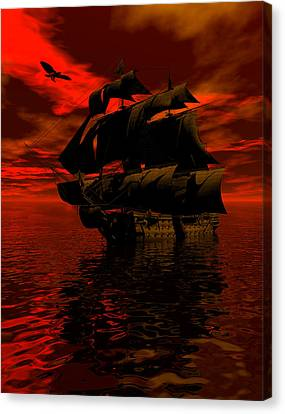 Starboard Tack Canvas Print by Claude McCoy