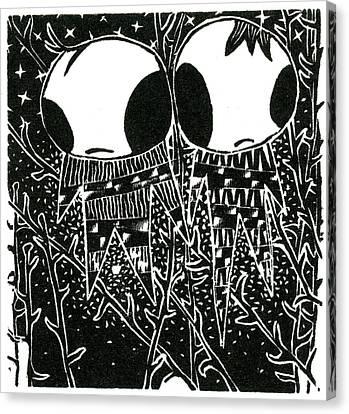 Stargazing Dreamstealers Canvas Print by Bella Larsson
