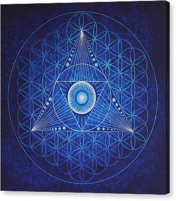 Starseed Transmissions Canvas Print by Erik Grind