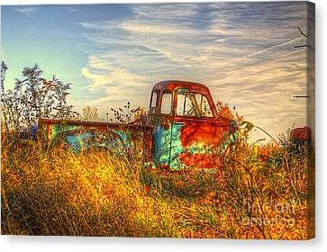 Starving Artist Canvas Print by Robert Pearson
