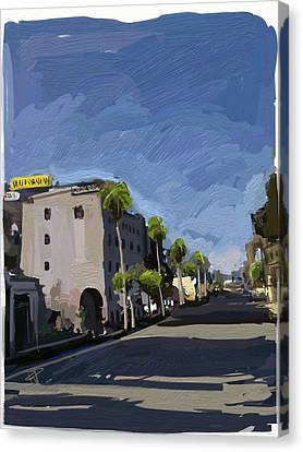 State Street Canvas Print by Russell Pierce