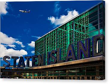 Staten Island Ferry Terminal Canvas Print by Chris Lord