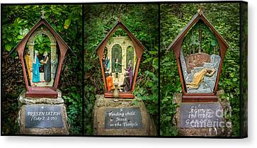 Stations Of The Cross 2 Canvas Print by Adrian Evans