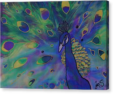 Stealing The Show Canvas Print by Joanne Smoley