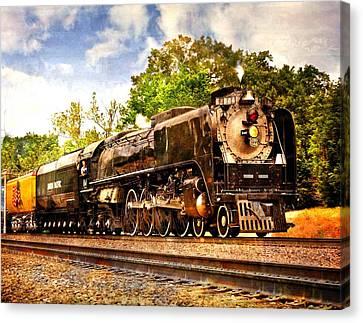 Steam Power Canvas Print by Marty Koch