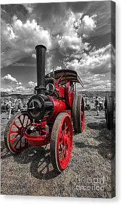 Steam Traction Engine Canvas Print by Stephen Smith
