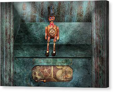 Steampunk - My Favorite Toy Canvas Print by Mike Savad