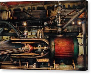 Steampunk - No 8431 Canvas Print by Mike Savad