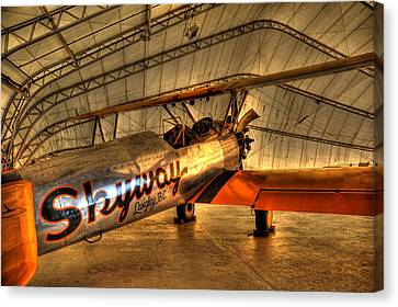 Stearman Canvas Print by Jason Evans