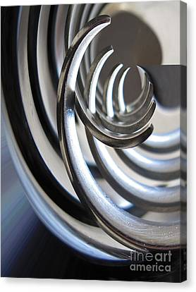 Steel Curves Canvas Print by Kelly Holm