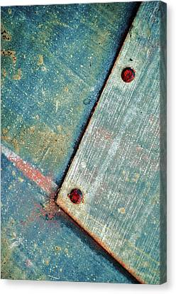 Steel Essence...two Canvas Print by Tom Druin