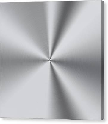 Steel  Canvas Print by Les Cunliffe
