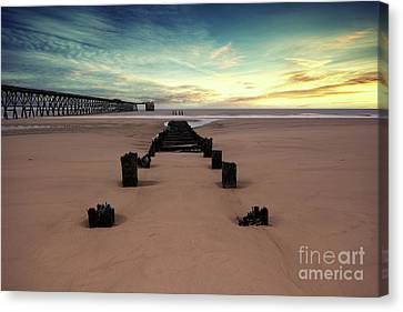Steetly Pier Canvas Print by Stephen Smith