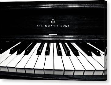 Steinway And Sons Canvas Print by Sam Hymas