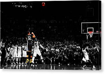 Stephen Curry Its Good Canvas Print by Brian Reaves