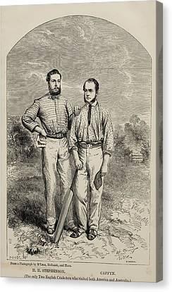 Stephenson And Caffyn. H.h. Stephenson Canvas Print by Vintage Design Pics