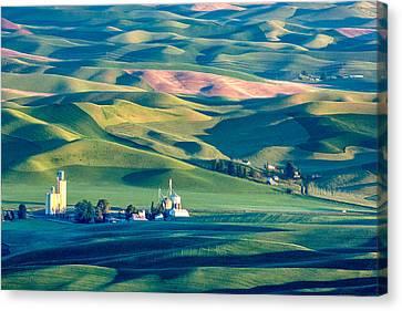Steptoe View Canvas Print by Todd Klassy