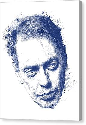 Steve Buscemi Canvas Print by Chad Lonius