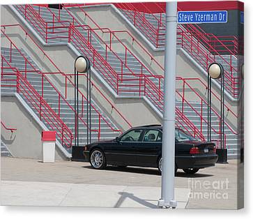 Steve Yzerman Drive Canvas Print by Ann Horn