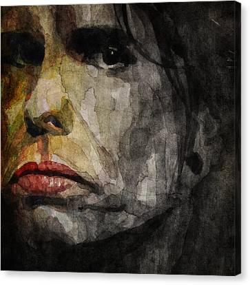 Steven Tyler  Canvas Print by Paul Lovering