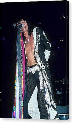 Steven Tyler Canvas Print by Rich Fuscia