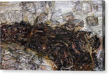 Stick In The Mud Canvas Print by Scott Rolfe