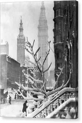 Stieglitz: New York, C1914 Canvas Print by Granger