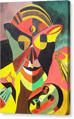 Stigma Canvas Print by Surya Prakash Makarla