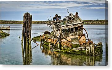 Still Afloat Canvas Print by Heather Applegate