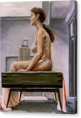 Still Canvas Print by John Clum