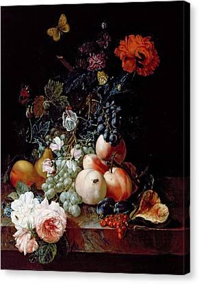 Still Life  Canvas Print by Johann Amandus Winck