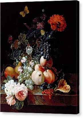 Still Life  Canvas Print by Johann Amandus Winck