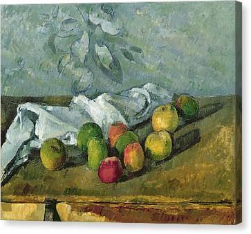 Still Life Canvas Print by Paul Cezanne
