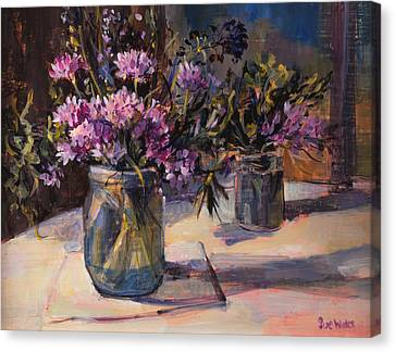 Still Life Canvas Print by Sue Wales