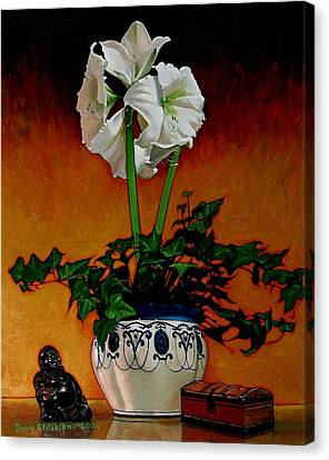 Still Life With Buddha Canvas Print by Doug Strickland